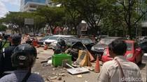 Diduga Darah Tinggi, Pemobil di Pluit Tewas Setelah Tabrak 5 Mobil