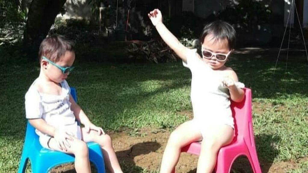 Sunbathing, Cara Alami Cynthia Lamusu Redakan Flu Si Kembar