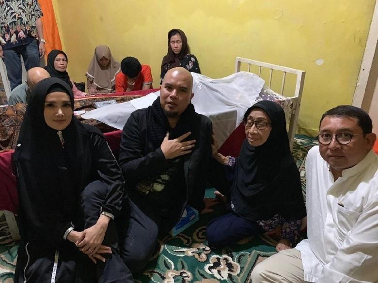 Bareng Fadli Zon dan Mulan, Ahmad Dhani Melayat Dian Pramana Poetra