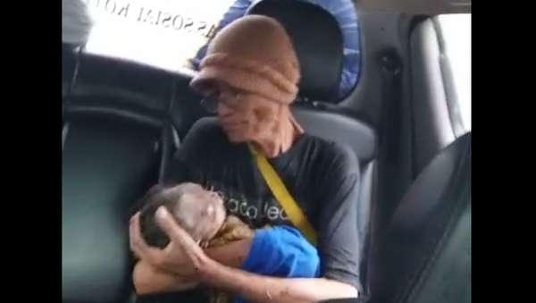 Meski Ibunda Tewas, Bayi Ini Selamat dari Tsunami Banten