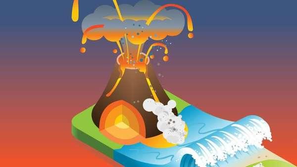 Erupsi Sejak Juli, Kini Gunung Anak Krakatau Siaga III