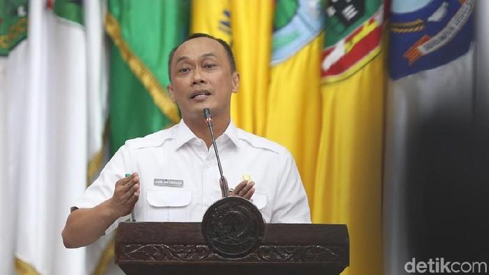 Ketua Dewan Pengurus Korpri Zudan Arif Fakrulloh (Ari Saputra/detikcom)