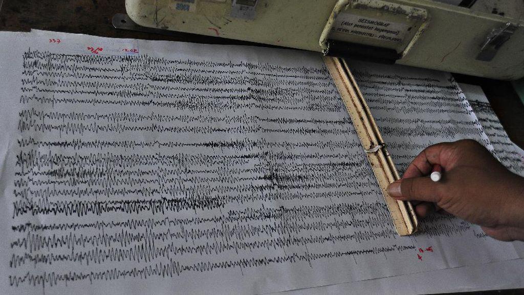 Gempa M 4,4 Terjadi di Pacitan