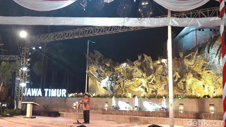 Surabaya Kini Punya Penanda Titik Nol Kilometer yang Baru
