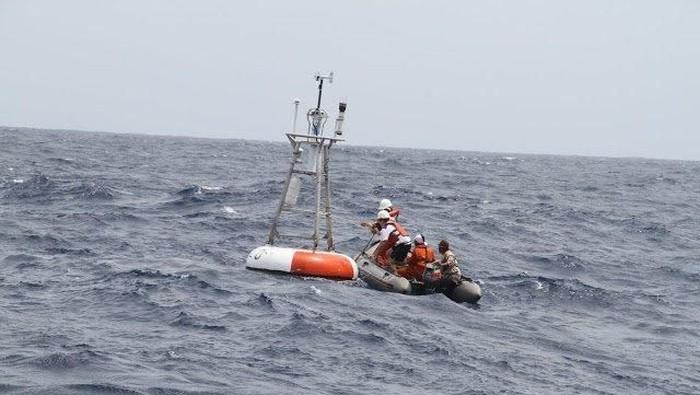 BPPT akan memperbaiki 3 buoy tsunami untuk dipasang di kompleks Gunung Anak Krakatau