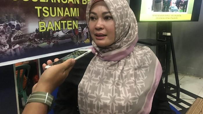 Foto: Bupati Pandeglang Irna Narulita (Robi Setiawan/detikcom)
