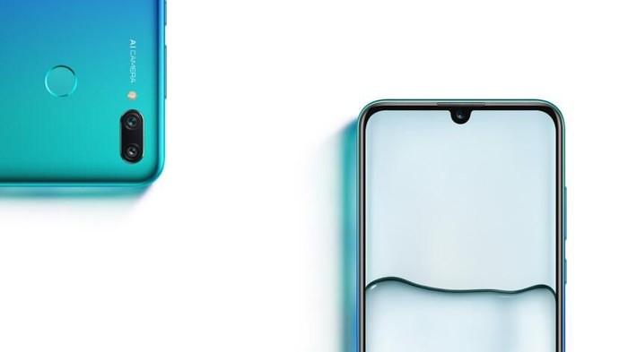 P Smart 2019, ponsel baru Huawei yang sudah langsung mendapatkan Android 9 Pie. Foto: Huawei via Android Authority