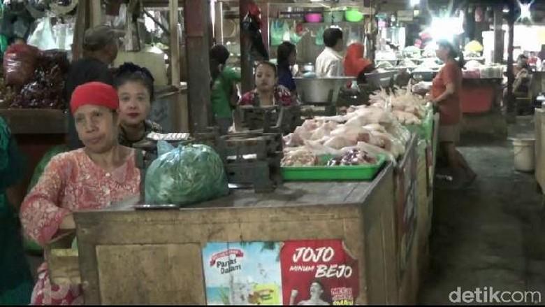 Kenaikan Harga Ayam, Telur dan Cabai di Probllinggo Dikeluhkan