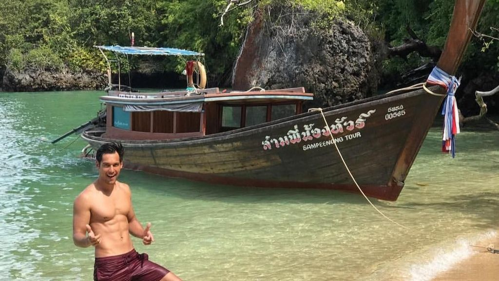 Foto: Petualangan Richard Kyle dan Syamsir Alam di Krabi