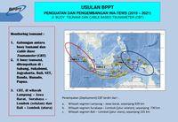 Rencana penempatan buoy dan kabel bawah laut untuk mendeteksi tsunami di Indonesia