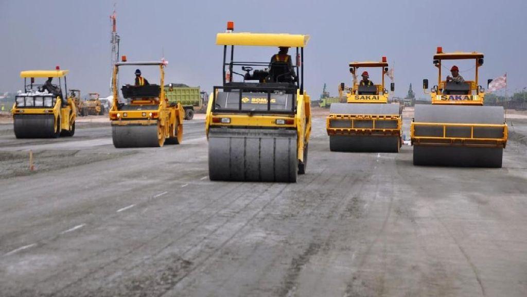 Target Konstruksi Rampung Juni, Progres Runway 3 Bandara Soetta 70%