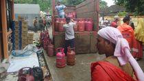 Pasokan LPG Terjamin, Dapur Umum di Pandeglang Terus Ngebul