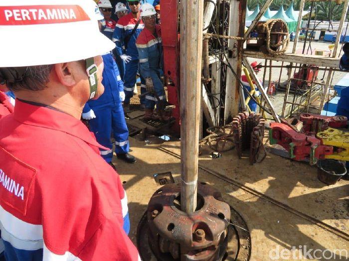 Sumur RNT-SZ24 diprediksi memiliki potensi cadangan minyak sebesar 2 juta barel.Foto: Herdi Alif Al Hikam/detikFinance