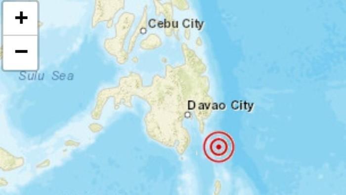 Layanan Telkomsel 100% pulih setelah terjadinya gempa yang mengguncang Kepualau Talaud, Sulawesi Utara, Foto: Pusat Gempa di Kepulauan Talaud, Sulut. (Dokumen akun Twitter BMKG)