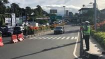 Puncak Diberlakukan Satu Arah ke Jakarta hingga Jelang Magrib