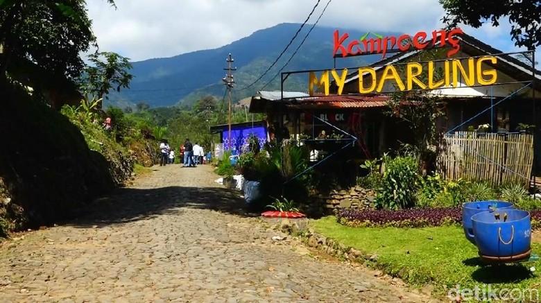 Kampung My Darling di Garut (Hakim Ghani/detikTravel)