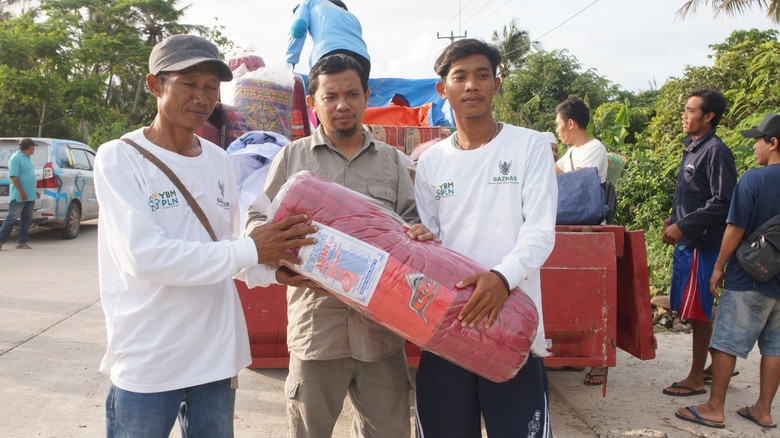 Korban Tsunami Banten Berpencar, Buat Bantuan Sulit Tepat Sasaran