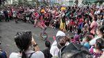 Atraksi Badut Galang Dana untuk Korban Tsunami Selat Sunda di CFD
