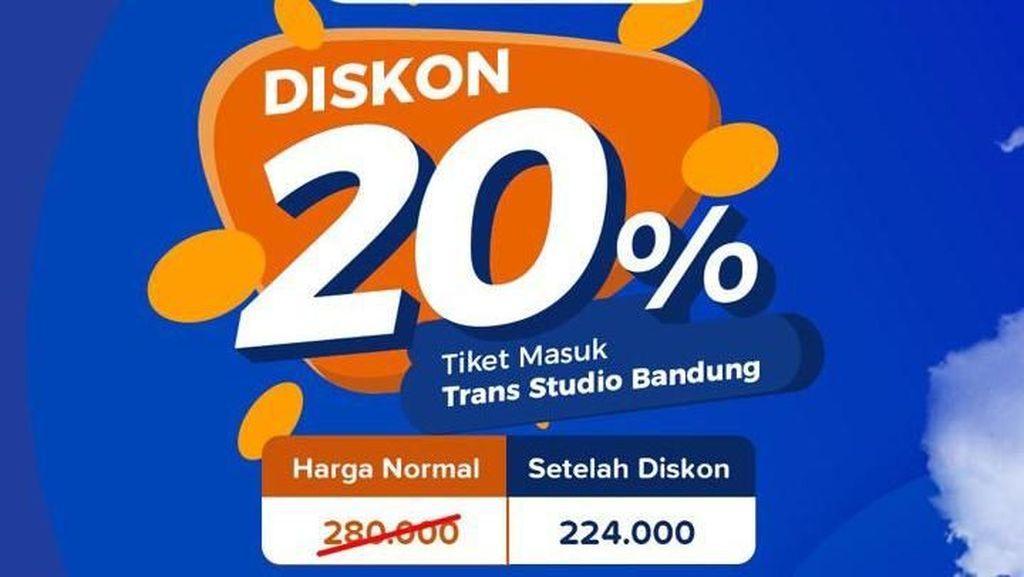Punya Aplikasi detikcom, Dapat Diskon 20% Tiket Trans Studio Bandung