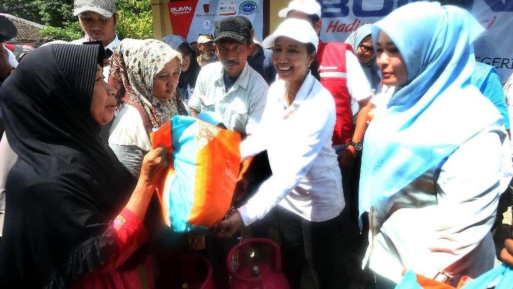 BNI Bantu Korban Tsunami di Banten