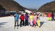 Foto: Natal Pertama di Negeri Ginseng