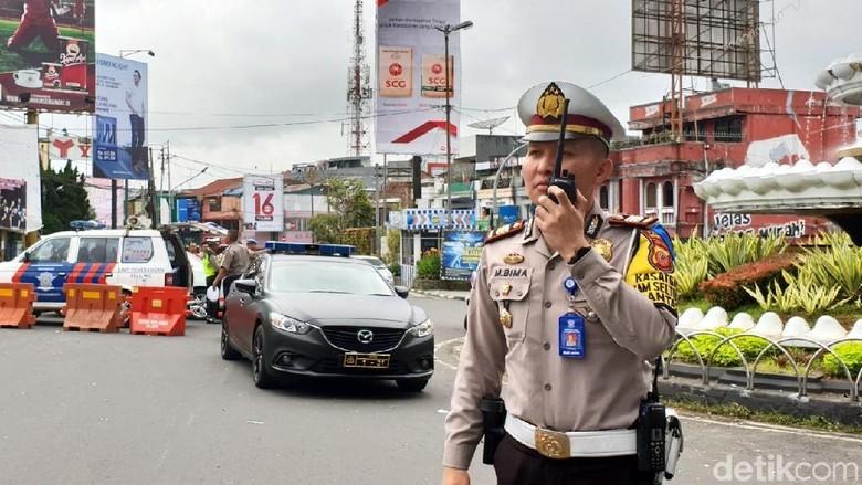 Jelang Pesta Tahun Baru, Polisi Rekayasa Lalin di Sukabumi