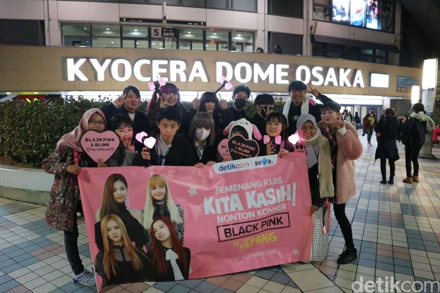 Lihat Serunya Para Pemenang Nonton Konser BLACKPINK di Jepang