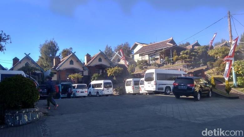 Foto: Hotel di sekitar kawasan wisata Bromo (M Rofiq/detikTravel)
