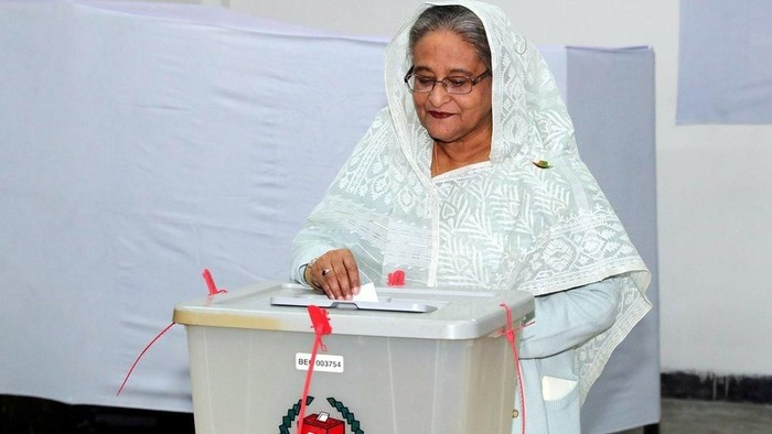 Pemilu berdarah di Bangladesh: PM Sheikh Hasina menang lagi, oposisi minta pemilu ulang