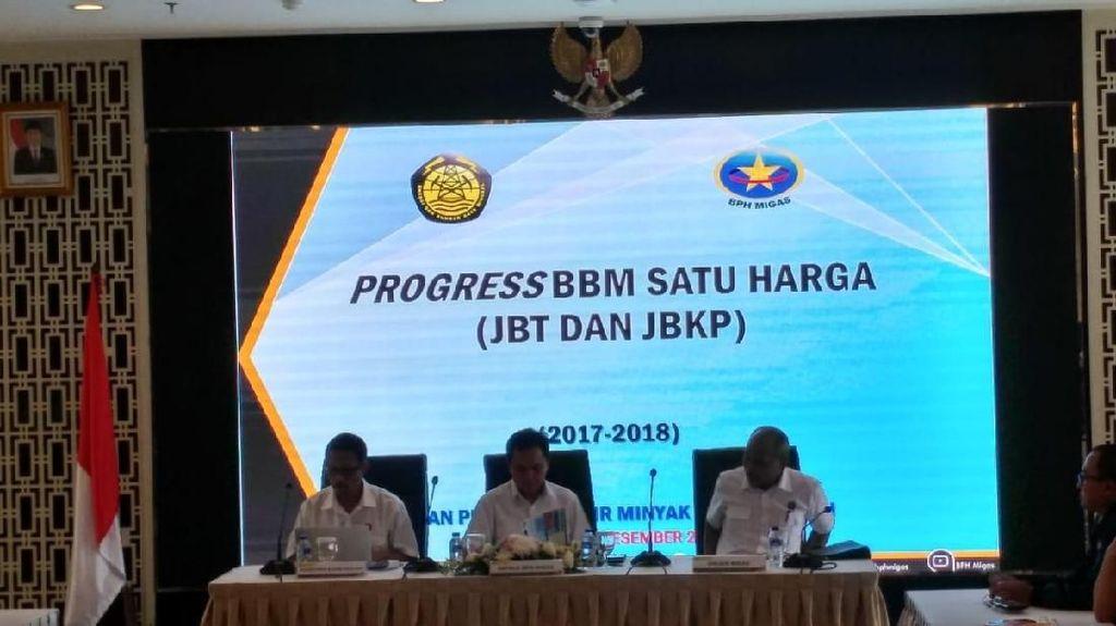 Harga BBM di 131 Daerah Terpencil Sudah Sama dengan di Jawa