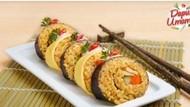 Kuliner Jepang dan Indonesia Berpadu dalam Nasi Goreng Sushi