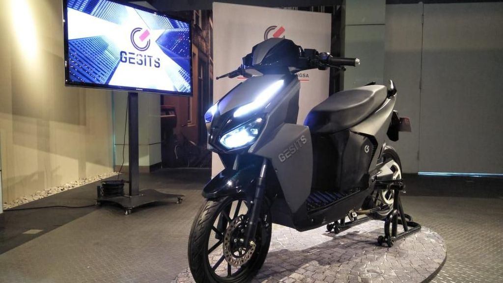 Motor Listrik Gesits Murni Indonesia!