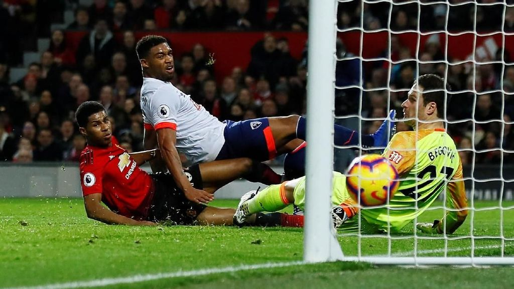 Preview MU Vs Bournemouth: Peluang Rashford Buka Puasa Gol