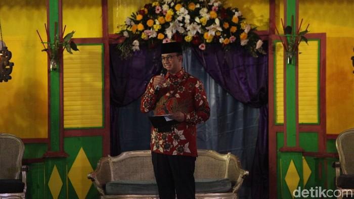Gubernur DKI Jakarta Anies Baswedan (Foto: Rifkianto Nugroho/detikcom)