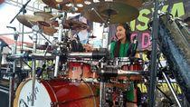 Drummer Cilik Asal Bengkulu Pecahkan Rekor MURI Main Drum 10 Jam