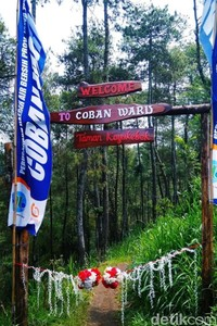Desa Wisata Kayukebek ini berada di Kecamatan Tutur, Kabupaten Pasuruan. Desa wisata ini memadukan wisata petik apel dengan wisata air terjun Coban Waru yang cantik dan letaknya tidak jauh dari kebun apel (Muhajir Arifin/detikTravel)