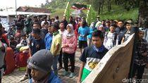 Cuaca Buruk, Para Pendaki Gunung Merbabu di Jalur Selo Balik Kanan