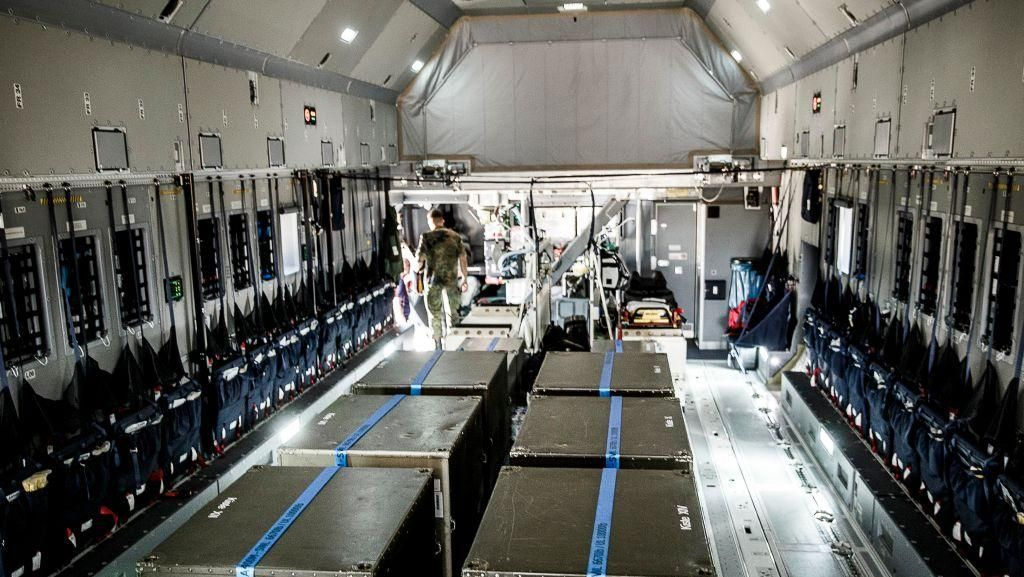 Ketika Pesawat Militer Dimodifikasi untuk Evakuasi Medis