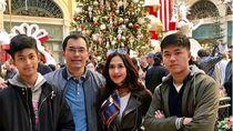 5 Keseruan Traveling Diah Permatasari dan Keluarga