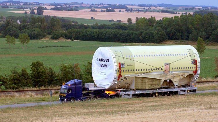 Pengiriman Bagian-bagian Airbus A380