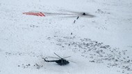 Pendaratan Dramatis 3 Astronot dari Antariksa ke Padang Salju