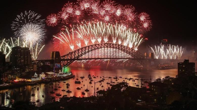 Begini Suasana Perayaan Tahun Baru 2019 di Berbagai Penjuru Dunia