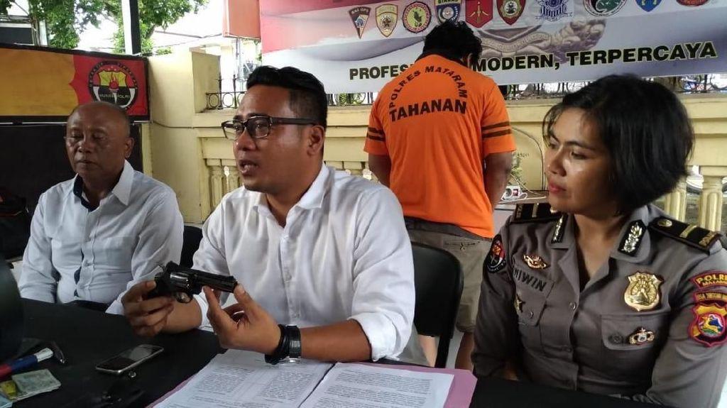 Polisi Gadungan di NTB Ditangkap, Tipu Korban Pakai Pistol Korek