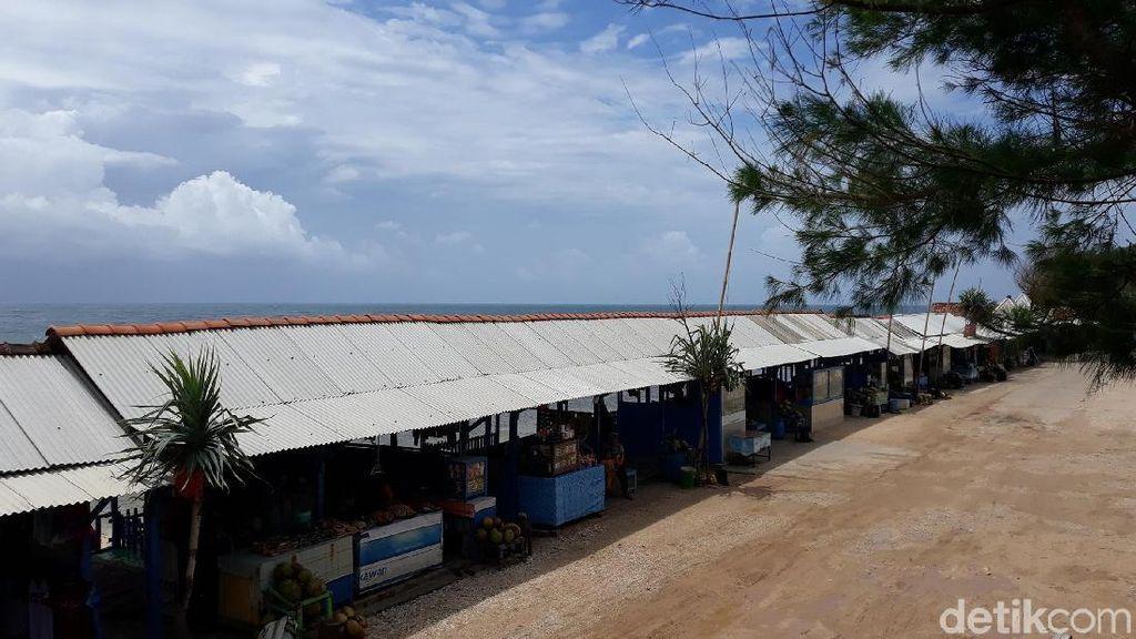 Pantai Gunungkidul Sepi Saat Tahun Baru, Pedagang Mengeluh