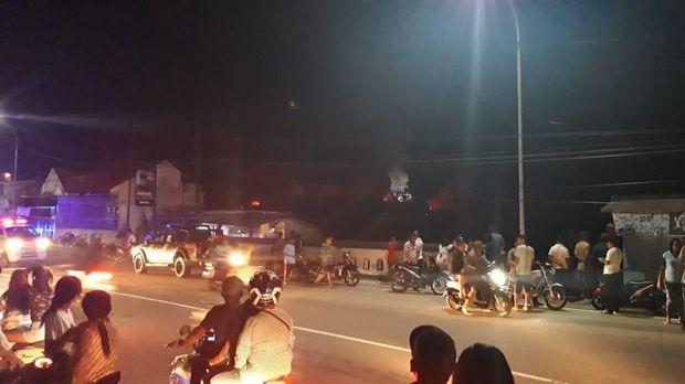 2 Rumah di Asrama Brimob Polda Maluku Terbakar