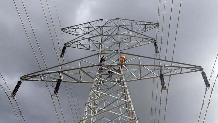 Ilustrasi transmisi listrik/Foto: PLN