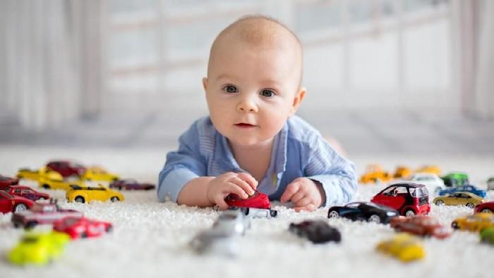 Nama bayi laki-laki terinspirasi mobil mewah/ Foto: iStock