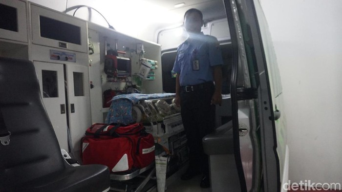Ambulans gawat darurat khusus anak (Foto: Uyung/detikHealth)