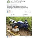 Gokil, Yamaha R15 Dipakai untuk Angkut Hasil Panen di Sawah