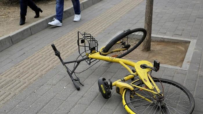 Sepeda Ofo. Foto: Reuters